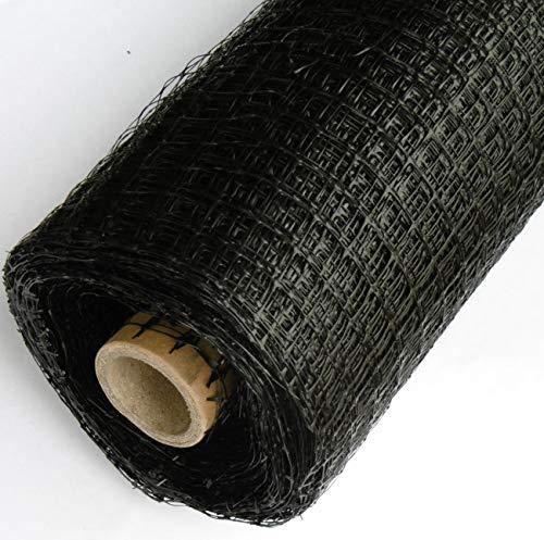 EXCOLO Hochwertige 20 m Maulwurfsperre für 0,65€/m² aus Kunststoff mit 15mm Gitter für den Rasen als Rasengitter um Maulwurf zu stoppen, zu vertreiben oder zu entfernen (20m x 1m = 20m²)