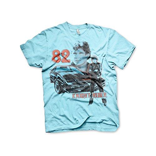 Official Knight Rider 82 KITT and Hasselhoff T-shirt