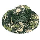 likeitwell Sombrero de ala Ancha para Hombres/Mujeres-Protección Solar UV al Aire Libre Gorra de Pesca Sombrero de Jardinero Impermeable y Transpirable para Deportes al Aire Libre y Trav