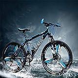 YXWJ 24/27 Velocidad Bicicleta de montaña Bicicletas 24,26 Pulgadas Mujeres de montaña for Adultos...