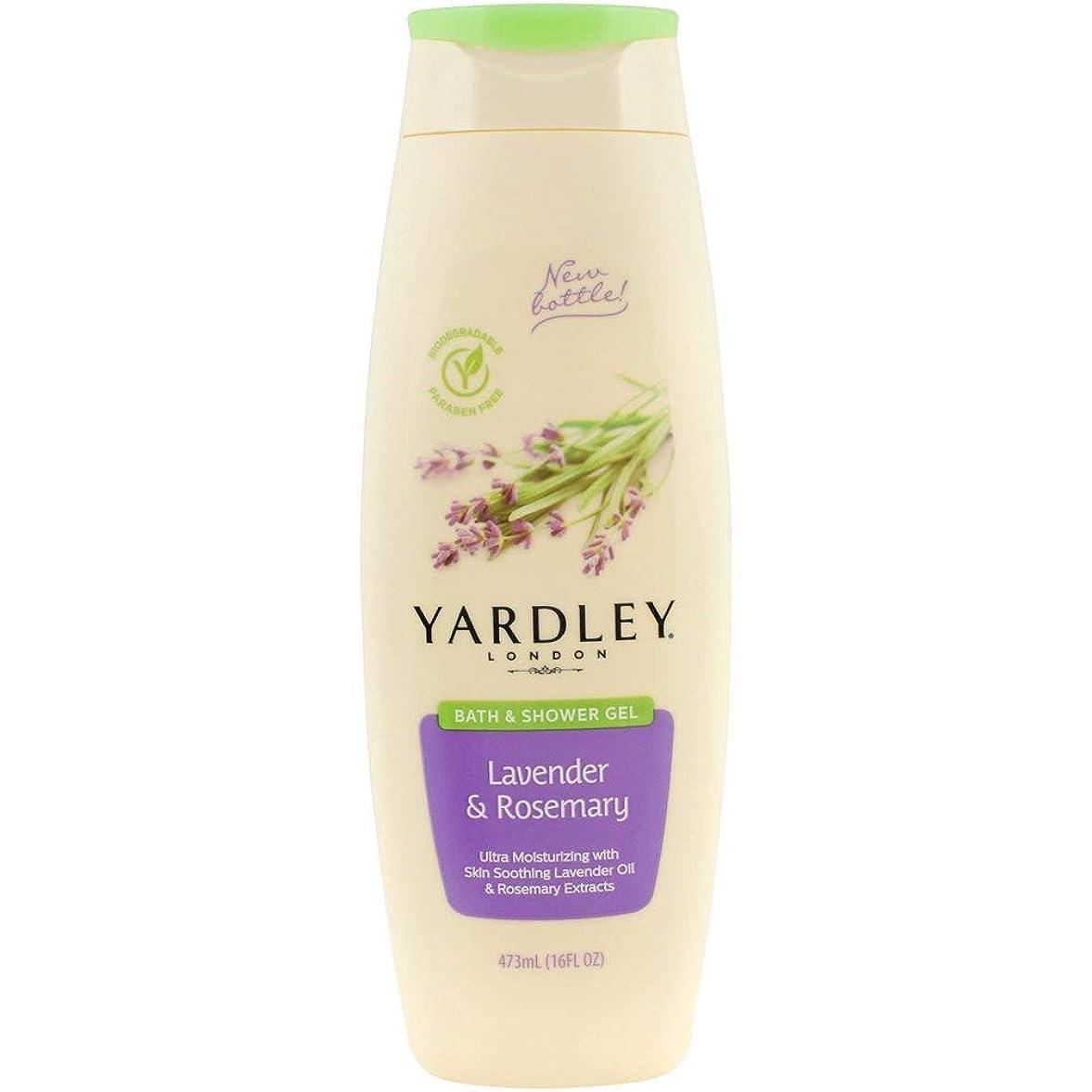 音楽振り返る以前はYardley London Bath & Shower Gel, Skin Soothing, Lavender & Rosemary 16 Fl Oz (473 Ml) by Yardley