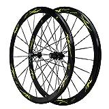 VDSOIUTYHFV 700C Fibra di Carbonio Set di Ruote per Bici 40mm Cerchio Ruota in...