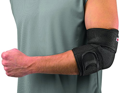 Mueller Adjustable Elbow Support, Black, One Size Fits Most (Packaging May Vary)   Adjustable Elbow Brace