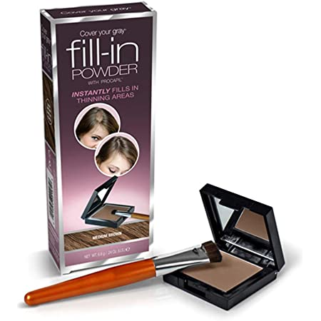 Cover Your Gray Fill In Powder - Medium Brown (Pack of 3)