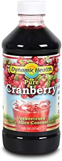 Dynamic Health Pure Cranberry, Unsweetened, 100% Juice Concentrate | 8oz