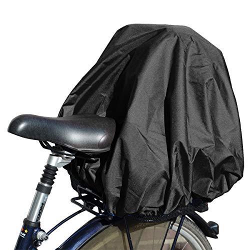NICE 'n' DRY Abdeckung und Regenschutz für Fahrradkorb XXL, schwarz