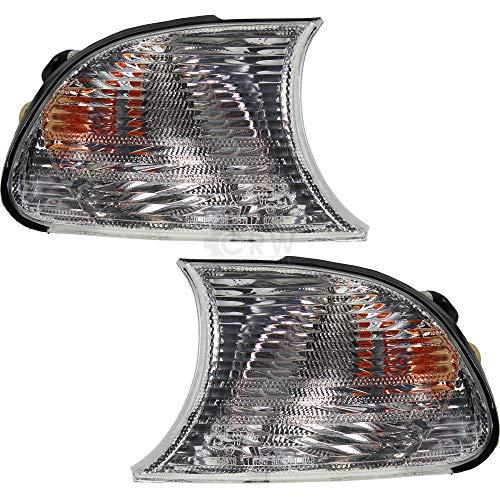 Blinker Frontblinker Set für 3er E46 Bj. 99-01 nur Coupe/Cabrio weiß