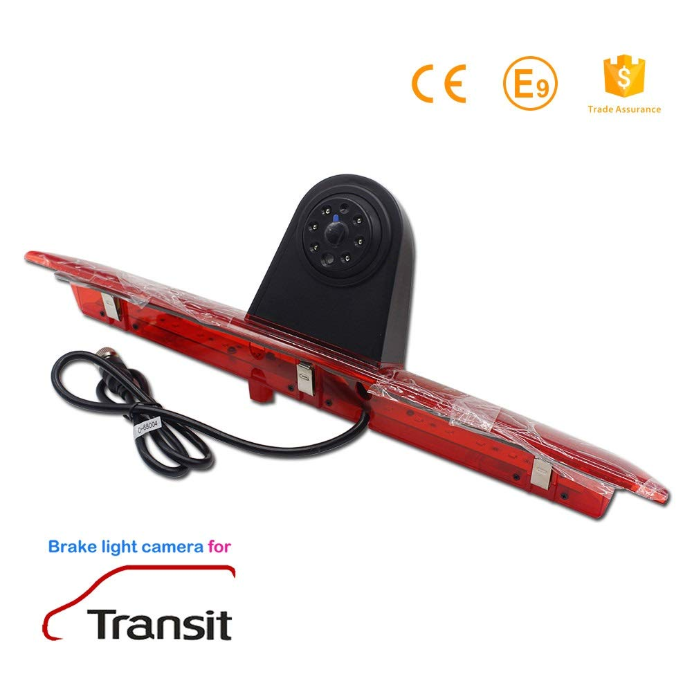 Rear Reversing Backup Camera Rearview Tailgate Handle Replacement Camera Night Vision Ip69k Waterproof for Audi A6L//Q7//A3 8P 8V //A4 B6 B7//A6L//8E //S5