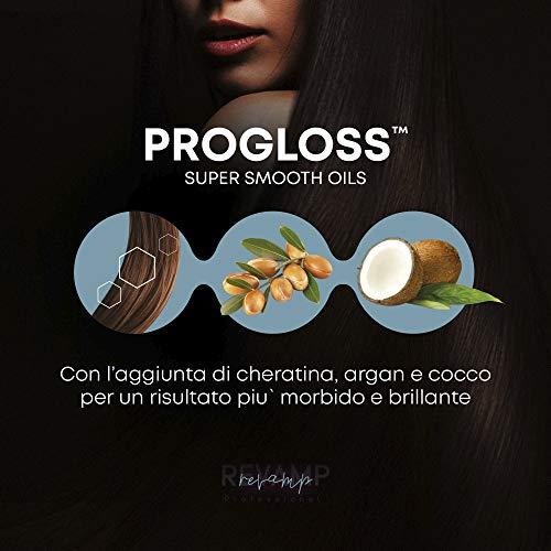 REVAMP Progloss Digital, Piastra per Capelli Professionale in Ceramica con Tecnologia Ionica per Ottenere Capelli Lisci… Cura della persona