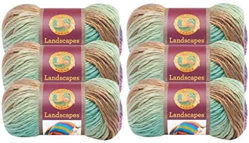 Lion Brand Landscapes Yarn - 6 Pack (Cabana)