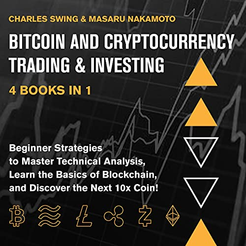 Bitcoin and Cryptocurrency Trading & Investing - 4 Books in 1 cover art