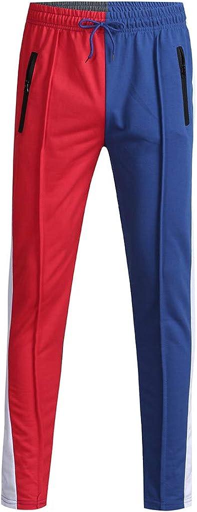 LISTHA Joggers Pants Mens Solid Sweatpants Excellent Kansas City Mall Drawstring Trouser Ru