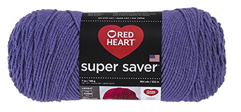 Red Heart?Super Saver Yarn, Lavender