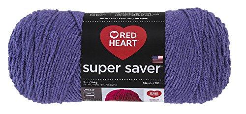 Red HeartSuper Saver Yarn, Lavender