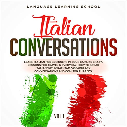 Italian Conversations: Volume 1 cover art