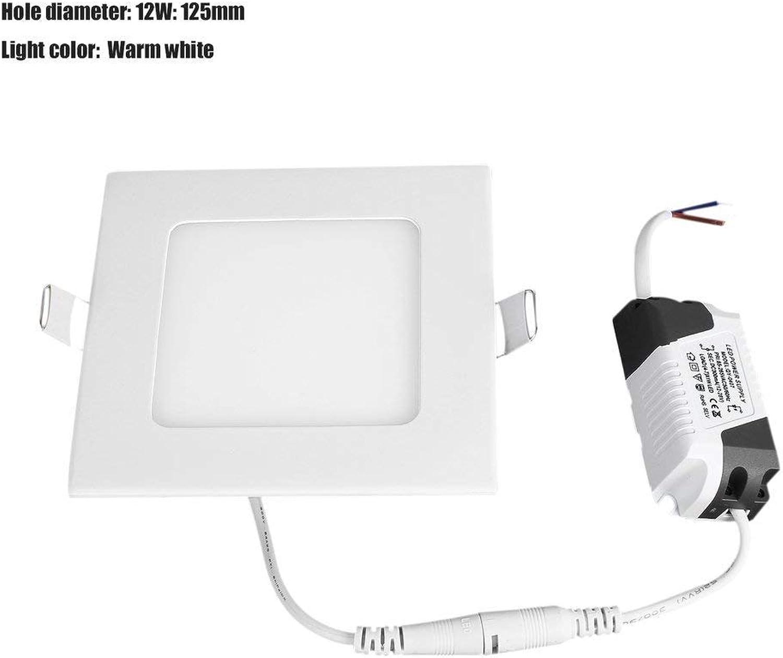 TiooDre LED Einbaustrahler Einbaustrahler Deckenstrahler Glas Panel Leuchte