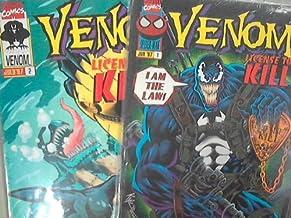 Venom License To Kill Nos. 1 & 2