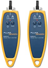 Fluke VISIFAULT Networks Visual Fault Locator with 2.5mm Universal Adapter, Fiber Tester (Pack of 2)