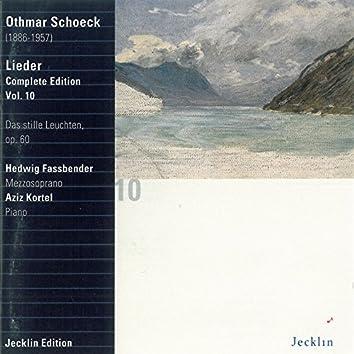 Othmar Schoeck: Lieder - Complete Edition, Vol. 10