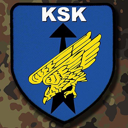 Copytec Patch/Aufnäher - KSK Kommando Spezialkräfte Bundeswehr Spezialeinheiten Wappen Abzeichen #7830
