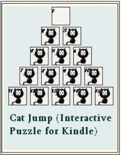 Cat Jump (Interactive Puzzle for Kindle) (English Edition)