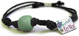 Key West Florida Beach Bracelet | Eco Friendly | Natural Hemp | Vegan Boho | Custom Jewelry | Handmade w/Earth & Sand