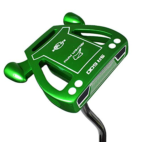 Ray Cook Golf Limited Edition Silver SR500 Putter, Green, 35'