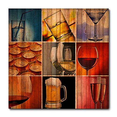Placa Decorativa - Bebidas - 0397plmk