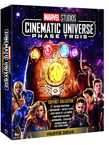 Marvel Studios Cinematic Universe : Phase 3.2-6 Films Blu-Ray Bonus
