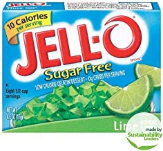 Jell-O: Sugar Free Lime Low Calorie Gelatin (Pack of 2)