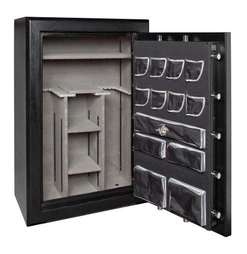 Winchester Big Daddy 7-M Gun Safe; 54 Gun Capacity (Black) (Mechanical Lock)