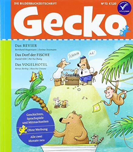 Gecko Kinderzeitschrift Band 72: Die Bilderbuchzeitschrift