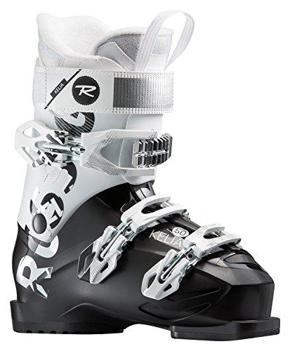 Rossignol Kelia 50 Ski Boots Black/White Womens Sz 10.5 (27.5)