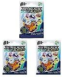Familienkalender Juego de 3 peonzas de combate compatibles con Beyblade B9508EU40 Micros Series 3', juguete | Blade | peonzas de combate