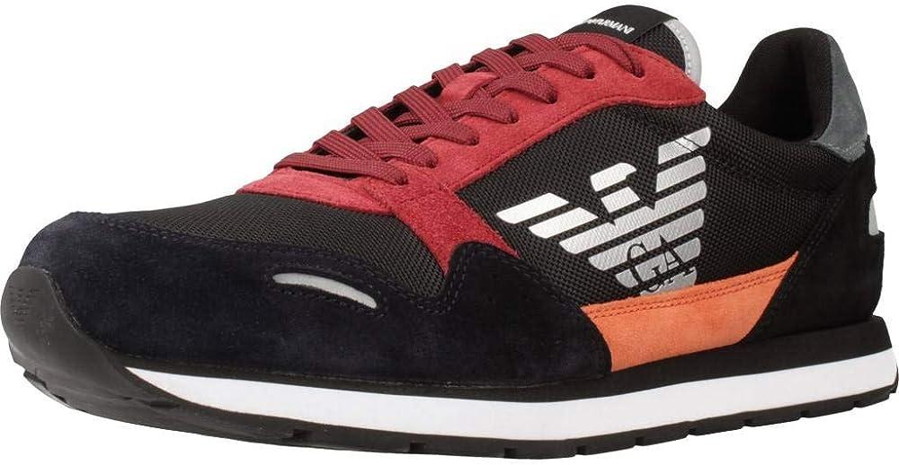 Emporio armani sneakers uomo blu X4X215XL200N062