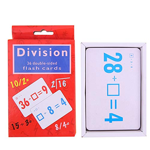 Brave669 Learning & Education Toys, Division Addition Operation Flash Paper Cards Math Learning Education Kids Toy,Best Gift for Your Child