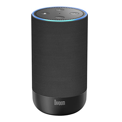 Divoom Adot Portable Premium Battery Speaker for Echo Dot with 10000mAh Rechargeable Battery Case