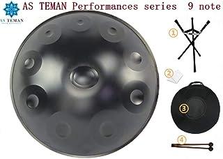 Batterie Harmonic Handpan 10 notas Steel Drum Percussion, 22Inch / 56Cm Chakra Drum, Para música y sanación sonora Religión, Con bolsa suave