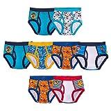 Paw Patrol Boys' Underwear Multipacks, Paw B 8pk Brief, 6