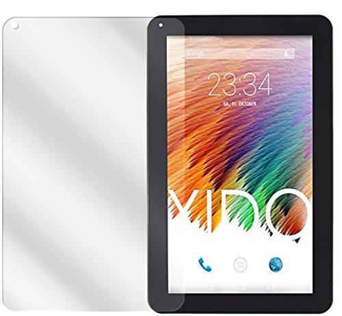 dipos I 2X Schutzfolie klar kompatibel mit XIDO Tablet X110 Folie Bildschirmschutzfolie