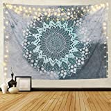 Tapestry Mandala Hippie Bohemian Tapestries Wall Hanging Flower Psychedelic Tapestry Wall Hanging Indian Dorm Decor Living Room Bedroom
