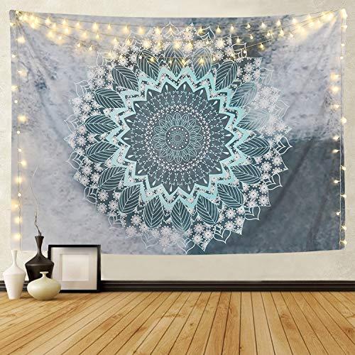 Alishomtll Mandala Wandteppich Wandbehang Tapisserie Indische Yoga Hippie Tuch Böhmische Wandtuch Wandkunst Schlafzimmer (210 x 150cm)