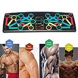 Luukiy Push up Board 14 in 1 Body Building Attrezzi ginnici Fitness Uomo Donna Allenamento...