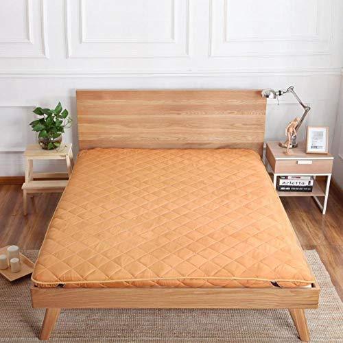 Lovehouse Dick Matratzenbezug Pad, Futon-matratzen Boden Folding Traditionellen Japaner, Polyester Tatami Boden Matte schlafen -Kamel 150x200cm(59x79inch)