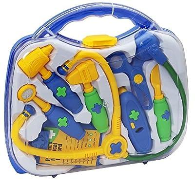 Kids Doctors & Nurses Pretend Play Roll Hospital Toy Medical Paramedics Case Bag from Kids Stuff