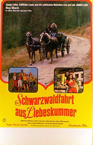 Schwarzwaldfahrt aus Liebeskummer - Filmposter gefaltet A3 29x42