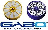Gabo Filters S-GDV-402-404-2P Set Dyson DC07 HEPA Pre & Post