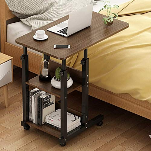 BLO 3 Tier Height Adjustable Portable Laptop Desk Rotate Laptop Bed Table,3