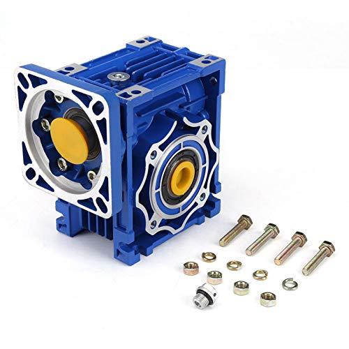 Reducción de velocidad Motor de engranaje metálico Relación de reducción de engranaje helicoidal 100: 1 Accesorios de herramientas eléctricas de torsión grande NMRV40 para máquinas de