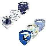 Bebedou Lovely algodón bordado Bandana baberos recién nacido Gift Pack de...